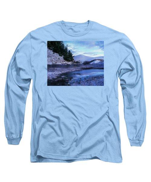 Snow On The Sand Long Sleeve T-Shirt