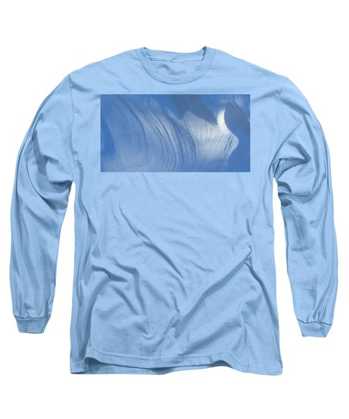 Snow Sculpted By The Wind Long Sleeve T-Shirt