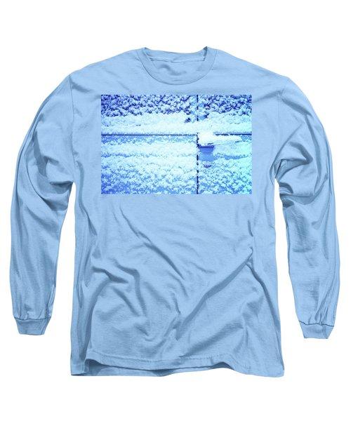 Snow Van 51 Chevy Panel Long Sleeve T-Shirt