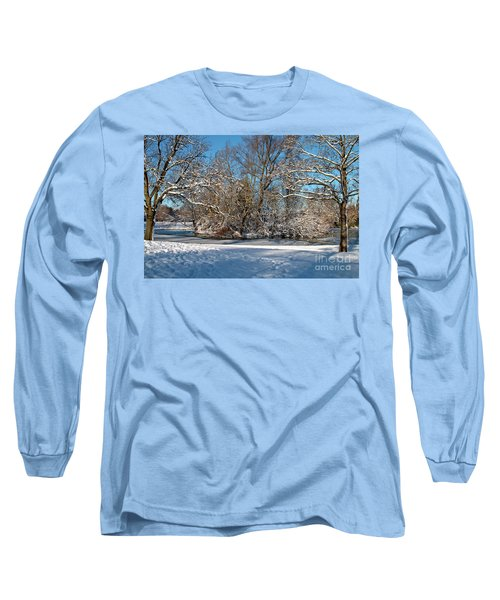 Snowy Island Long Sleeve T-Shirt