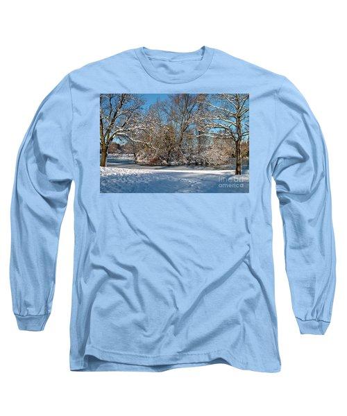 Snowy Island Long Sleeve T-Shirt