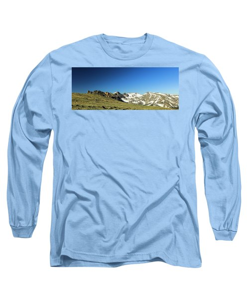 Snowy Top Long Sleeve T-Shirt