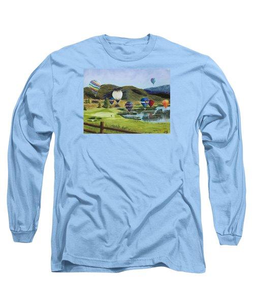Soaring Over Colorado Long Sleeve T-Shirt