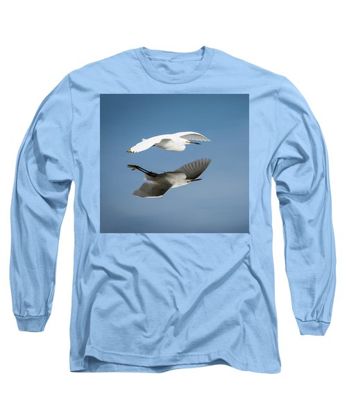 Soaring Over Still Waters Long Sleeve T-Shirt