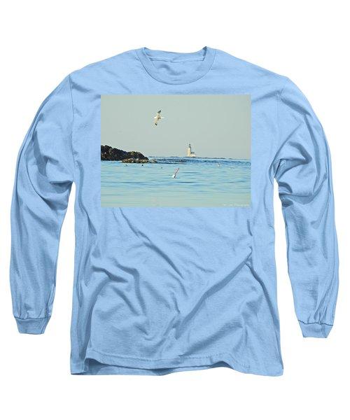 Soaring Seagull Long Sleeve T-Shirt