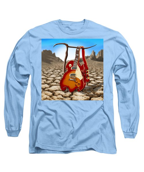 Soft Guitar II Long Sleeve T-Shirt
