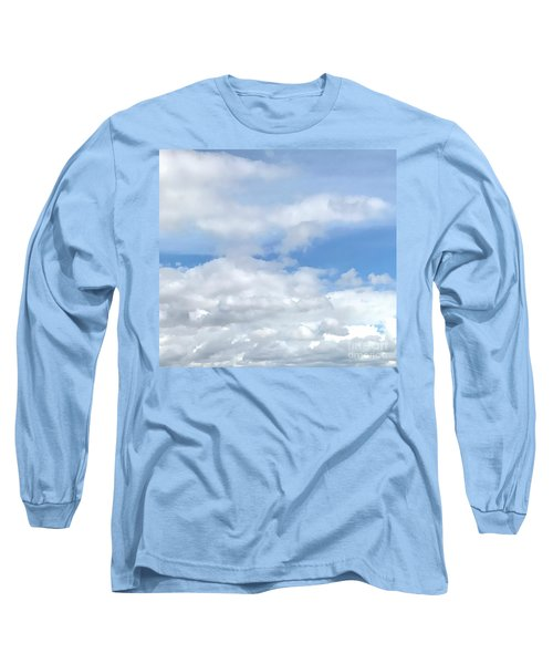 Soft Heavenly Clouds Long Sleeve T-Shirt