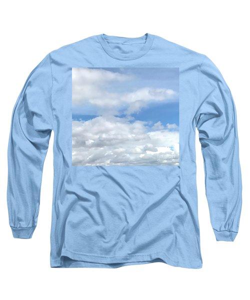 Soft Heavenly Clouds Long Sleeve T-Shirt