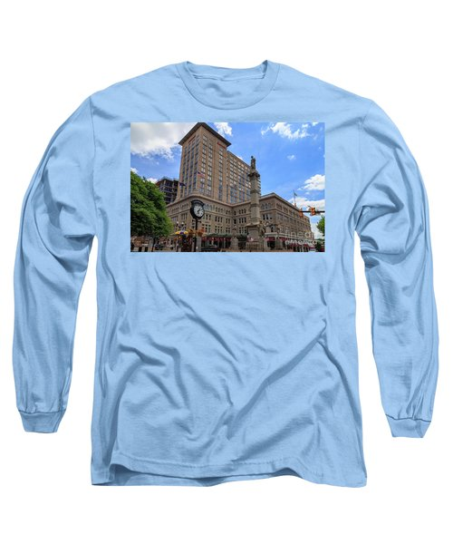 Soldiers Monument In Penn Square In Lancaster Pa Long Sleeve T-Shirt