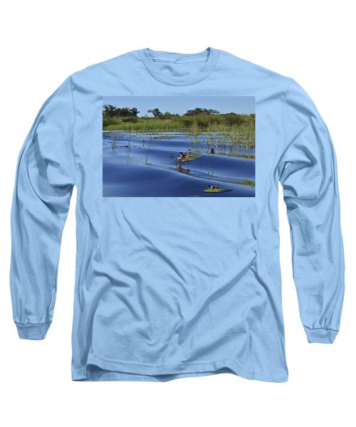 Solitude In The Okavango Long Sleeve T-Shirt