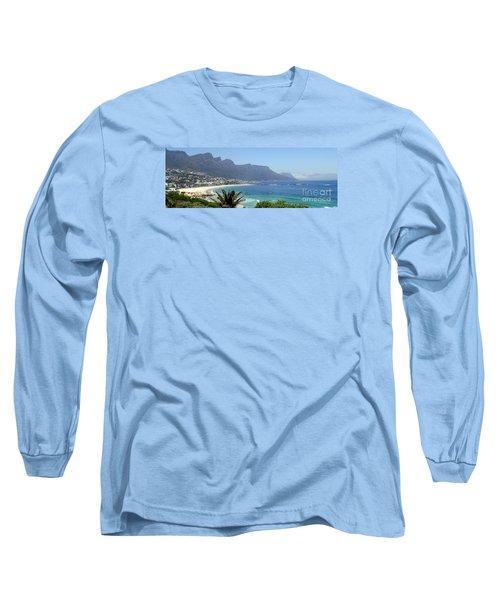 South Africa Coast Long Sleeve T-Shirt by John Potts