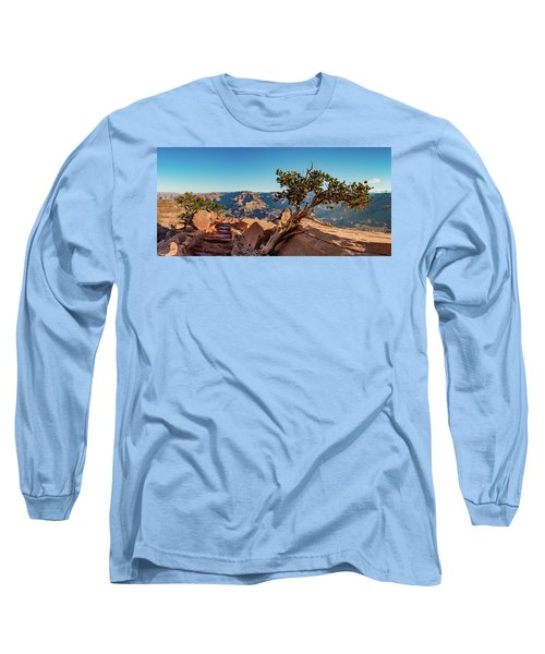 South Kaibab Grand Canyon Long Sleeve T-Shirt by Phil Abrams