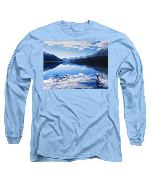 South Mavora Lake, New Zealand Long Sleeve T-Shirt