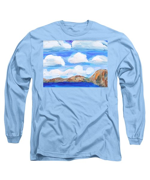 South Morro Bay View To North Long Sleeve T-Shirt