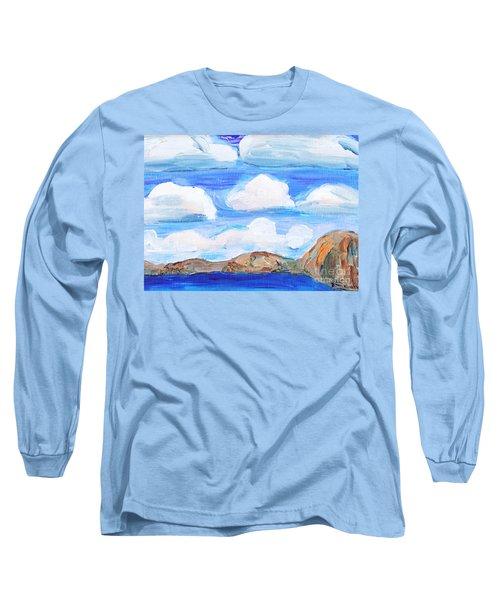 South Morro Bay View To North Long Sleeve T-Shirt