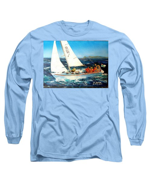 Southern Maid Long Sleeve T-Shirt by Tim Johnson