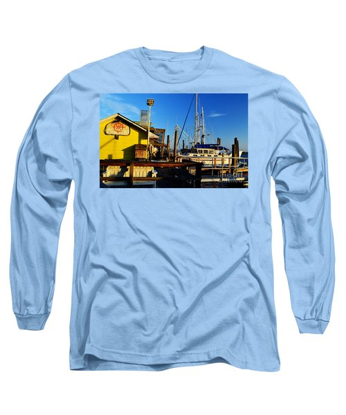 Southport Potters Seafood Pier Long Sleeve T-Shirt
