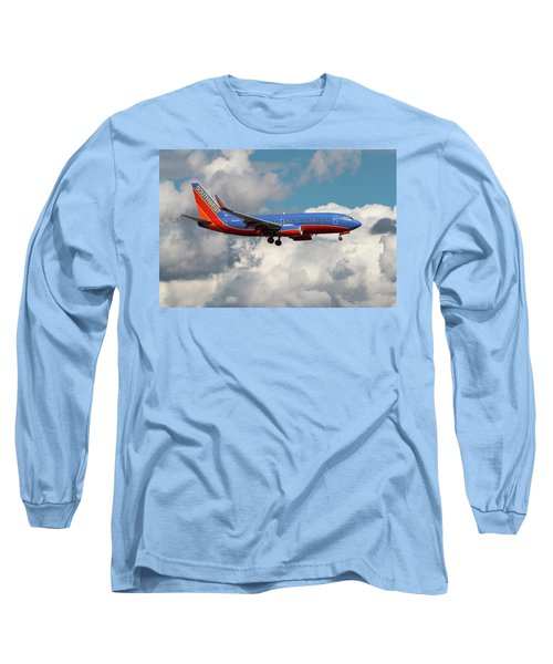 Southwest Airlines Boeing 737-700 Long Sleeve T-Shirt