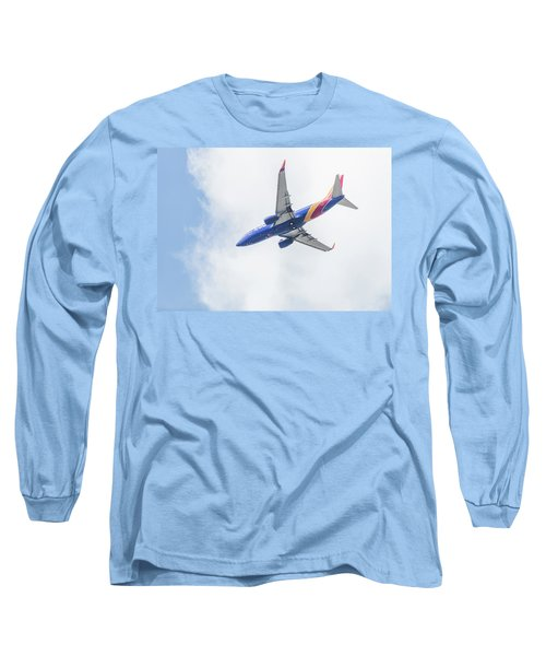 Southwest Airlines With A Heart Long Sleeve T-Shirt