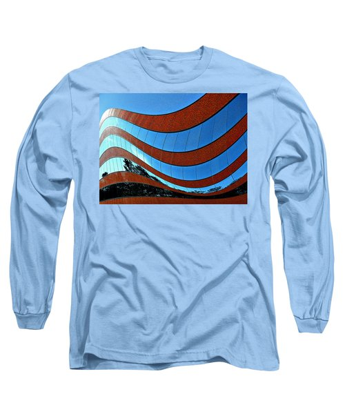 Space Geometry #8 Long Sleeve T-Shirt