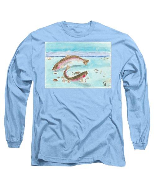 Spawning Rainbows Long Sleeve T-Shirt