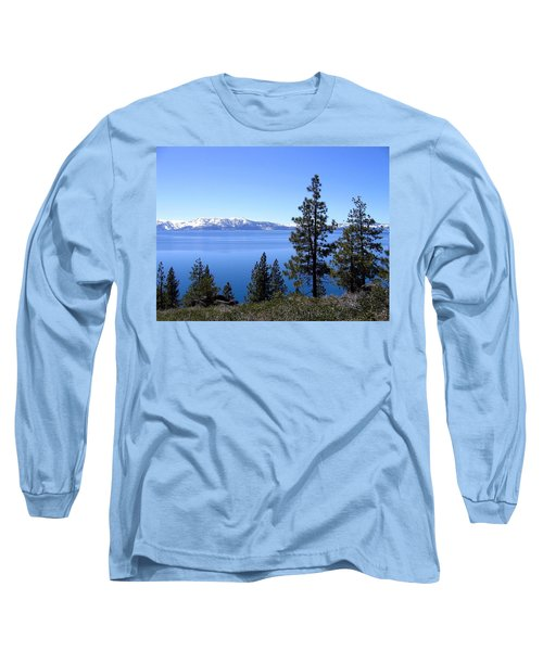 Spectacular Lake Tahoe Long Sleeve T-Shirt