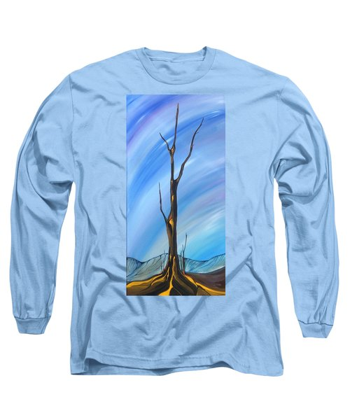 Spike Long Sleeve T-Shirt by Pat Purdy