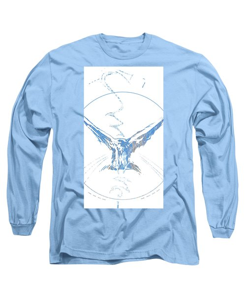 Spirit Animal . Crow Long Sleeve T-Shirt