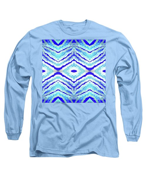 Spirit Journey To The Other Side  Long Sleeve T-Shirt by Rachel Hannah