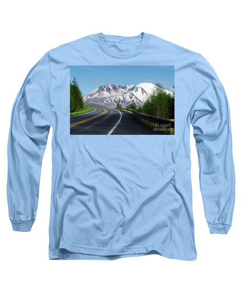 Spirit Lake Highway To Mt. St. Helens Long Sleeve T-Shirt