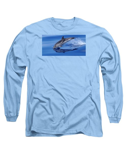Long Sleeve T-Shirt featuring the photograph Splash Down by Richard Patmore