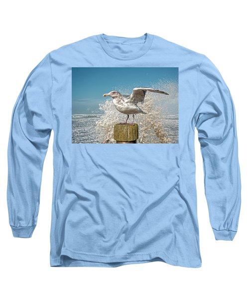 Splash Gull Long Sleeve T-Shirt