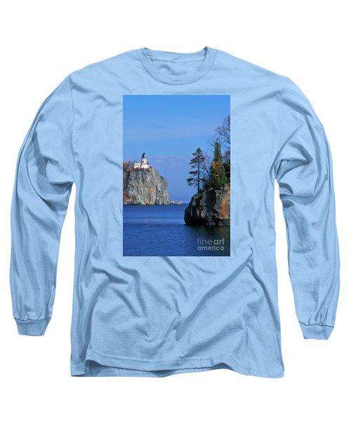 Split Rock Lighthouse - Fs000120 Long Sleeve T-Shirt