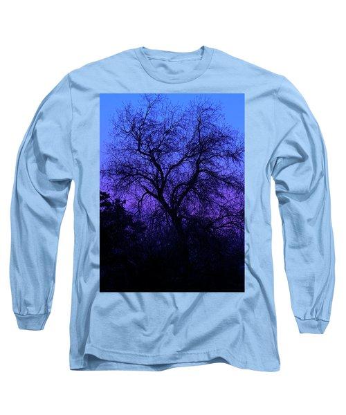 Spooky Tree Long Sleeve T-Shirt by Paul Marto