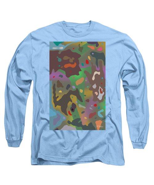 Long Sleeve T-Shirt featuring the digital art Spotsville by David Klaboe