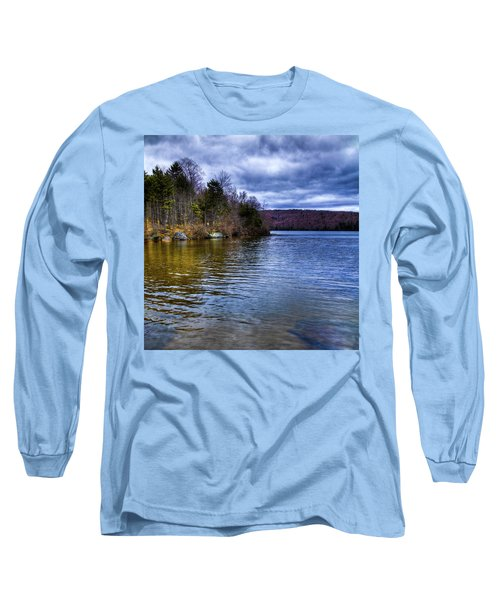Spring Day On Limekiln Long Sleeve T-Shirt by David Patterson