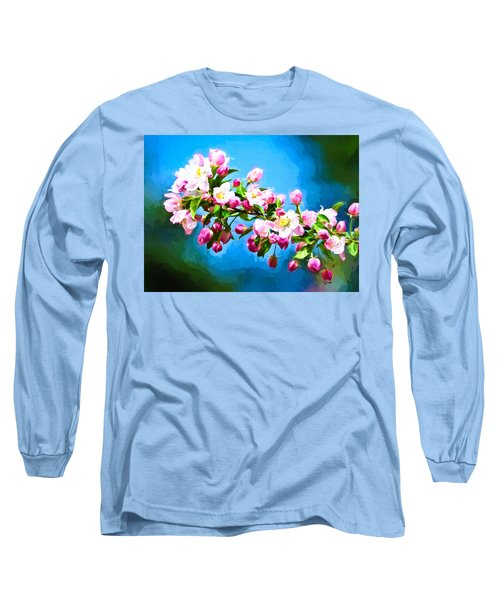 Spring Impressions Long Sleeve T-Shirt by Greg Norrell