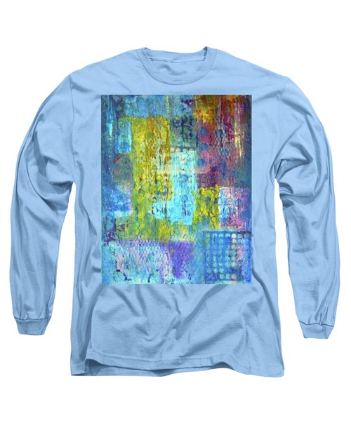 Long Sleeve T-Shirt featuring the painting Spring Into Summer by Everette McMahan jr