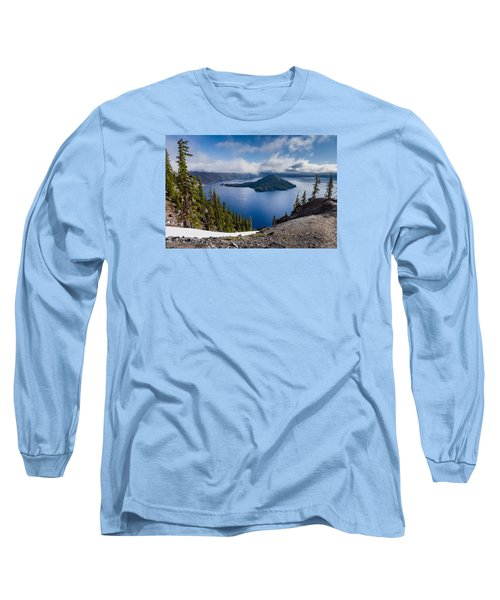 Spring Morning At Discovery Point Long Sleeve T-Shirt by Greg Nyquist