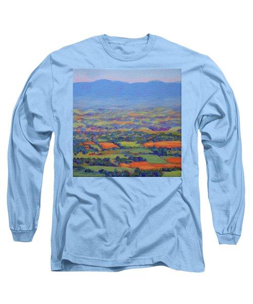 Spring Patchwork 3 Long Sleeve T-Shirt by Bonnie Mason