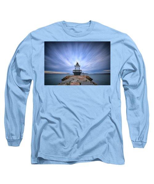 Spring Point Ledge Light Station Long Sleeve T-Shirt