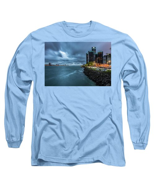 Storm Season In Detroit  Long Sleeve T-Shirt