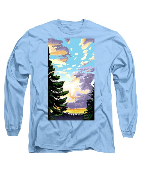 Spring Sunrise 01 Long Sleeve T-Shirt