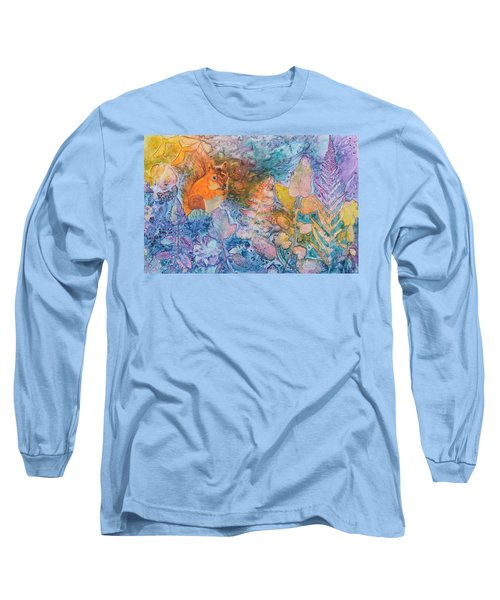 Squirrel Hollow Long Sleeve T-Shirt by Nancy Jolley