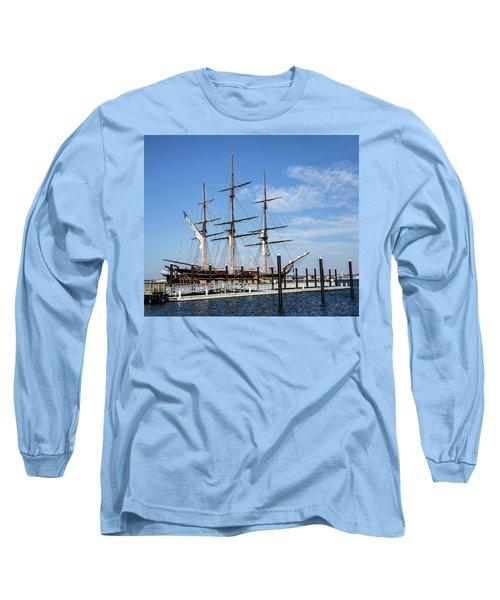 Ssv Oliver Hazard Perry Long Sleeve T-Shirt by Nancy De Flon