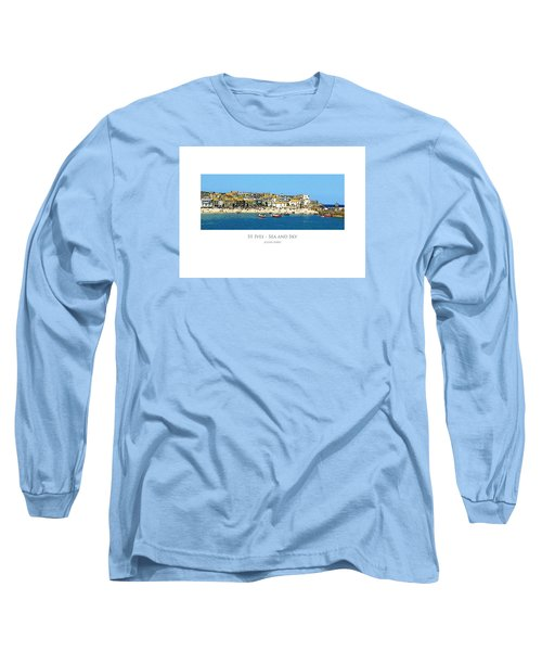 St Ives Sea And Sky Long Sleeve T-Shirt