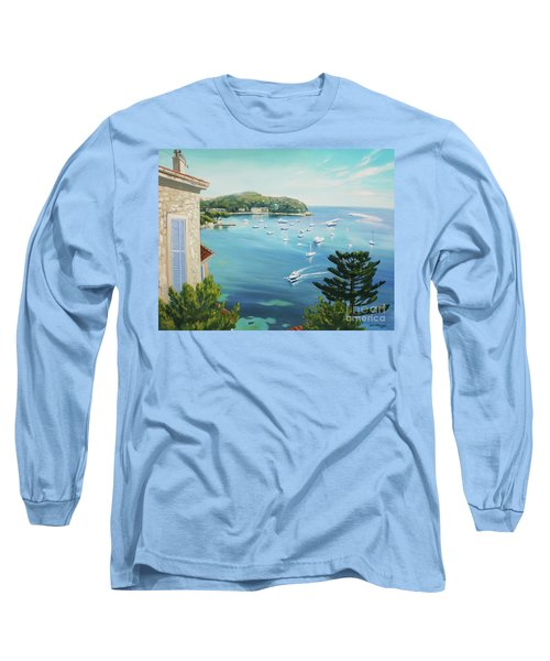 St Jean Cap Ferrat 2 Long Sleeve T-Shirt
