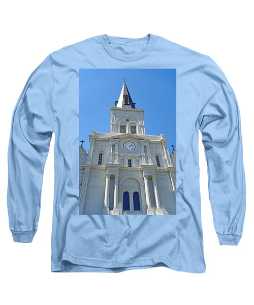 St. Louis Cathedral Study 1 Long Sleeve T-Shirt