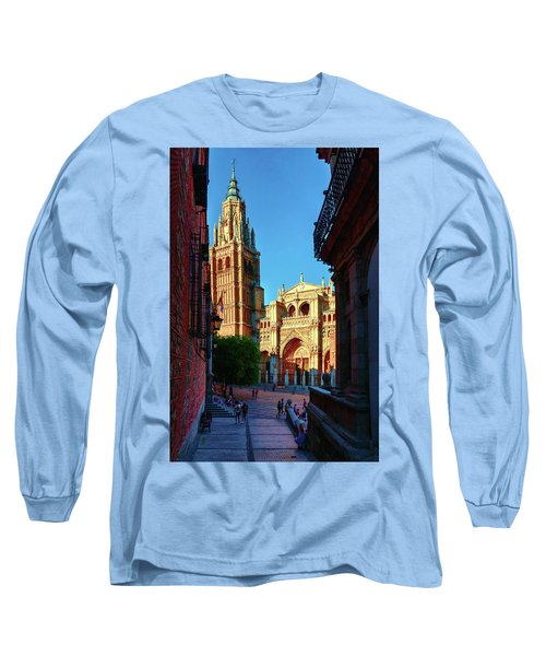 St Mary's Cathedral - Catholic Cathedral In Toledo, Chair Of The Primate Of Spain, The Main Cathedra Long Sleeve T-Shirt