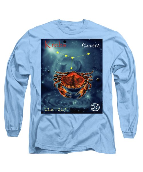 Star Of Cancer Long Sleeve T-Shirt